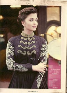 Aishwarya Rai in Hi! Blitz magazine.