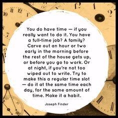 Quotable – Joseph Finder - Writers Write