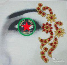 Nuovo Stile Di Gioielli Temporanei Partito Occhi Tatuaggi Tatuaggio Occhio Adesivo All'ingrosso Da Maxi