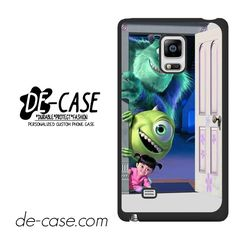 Monster Inc In Door DEAL-7398 Samsung Phonecase Cover For Samsung Galaxy Note Edge
