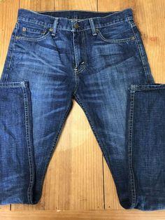a048deff Levi's 513 Men's Size 31 x 32 Blue Jeans Levi Strauss Co #Levis #513