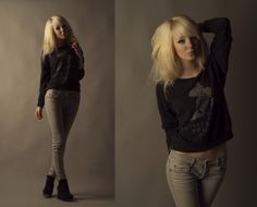 GRAY // a day in the studio (by Shelley Mulshine) http://lookbook.nu/look/1350089-GRAY-a-day-in-the-studio
