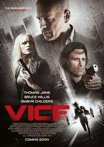 """THE CINEMA 212: Vice (2015)   Sinopsis :  Film """"Vice"""" menceritakan tentang Julian Michaels (Bruce Willis) telah merancang sebuah resort yang sangat luar biasa yang disebut """"Vice"""". Ditempat ini para pelanggan dapat bermain dengan segala fantasi terliar mereka dengan para penduduk buatan. Penduduk buatan ini terbuat dari robot tetapi mereka terlihat, berpikir dan merasa seperti manusia biasa. Suatu ketika, salah satu robot (Ambyr Childers) dapat mengingat kembali kejadian yang pernah robot…"""