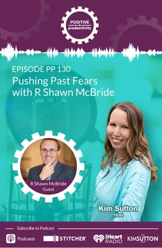R Shawn McBride and Kim Sutton have a fascinating discussion about his journey through the career world, how to push past fears and society's beliefs of who we should be, and the importance of being authentic in our relationships and marketing. Me Time, No Time For Me, Business Events, Business Leaders, Up To Something, Beat Cancer, Success Coach, Keep Moving Forward, Life Purpose