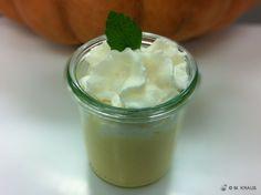 Kürbiscremesuppe mit Apfelschaum | Mein Rezept der Woche