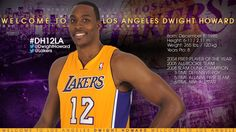 Welcome to the Lakers!!