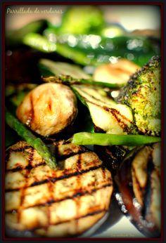 Parrillada de verduras a la parrilla, un plato sano y exquisito!! #recetas #cocina http://www.tererecetas.com/2015/02/parrillada-de-verduras.html