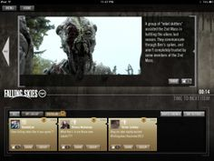 Falling Skies S3 Premiere Social TV and Second Screen Sync App Review