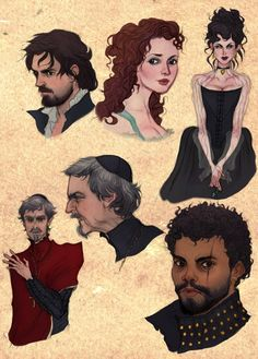 More Musketeers fanart :)
