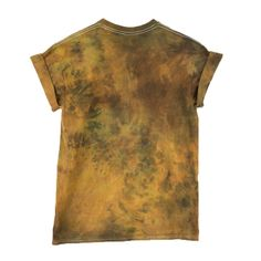 Rust Tie Dye T-shirt - Masha Apparel - 2
