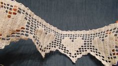 Cortina crochet