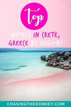 Greece Travel Blog: Here is a detailed list of where to stay in Crete, Greece. We list the best hotels in Crete for you. We've covered all the bases from luxurious 5-star all the way down to the more budget-friendly and family-freindly hotels. Hotels are listed by region to help you easily find what you're looking for in each area of Crete. #Crete #Greece #GreeceTravel #TravelTips