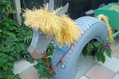 Ein eigenes Pferd, das ist der Wunsch vieler kleiner Kinder. Mit diesem Basteltipp erfüllen Sie den Wunsch - ein bisschen zumindest.
