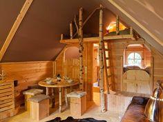 Hütte la Zénitude + sauna - 34 m² - Auch mal toll für ein WE zu 5 mit Hund...!!