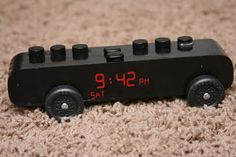 alarm clock Pinewood Derby Car