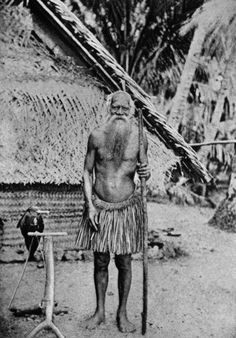 Old Nauruan man