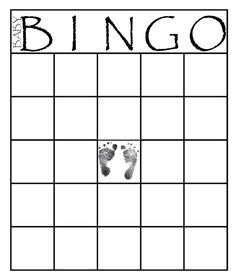 How to make bingo card with these free printable bingo cards and templates. You can use these bingo cards for baby and bridal shower games… Bingo Baby Shower, Easy Baby Shower Games, Baby Bingo, Simple Baby Shower, Baby Shower Cards, Baby Shower Printables, Baby Jeopardy, Shower Gifts, Bingo Card Template