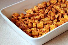 Parmesan Roasted Potatoes, love them carbs :)