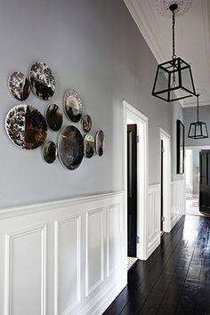 25 Best Hallway Walls Make Your Hallways As Beautiful As Entryway and Hallway Decorating Ideas Beautiful Hallway Hallways Walls Hallway Walls, Entry Hallway, Wainscoting Hallway, Hallway Wall Decor, Hallway Storage, Wainscoting Styles, Upstairs Hallway, Mercure Hotel, Hallway Colours