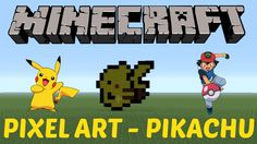 48. Learn how to make PIKACHU from Pokemon in MINECRAFT! Click on the image to see the video :D