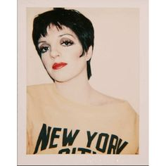 """Say what you will about Andy Warhol, but this new book, Andy Warhol: Polaroids is super dope. Like this one of Liza Minelli from 1978. #polaroid #andywarhol #snapshots #beforeinstagram #filmoverfilters"" Photo taken by @popuppolaroid on Instagram, pinned via the InstaPin iOS App! http://www.instapinapp.com (09/09/2015)"
