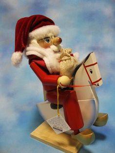 || Steinbach 2014 Santa Rider Nutcracker || NS1652 #Steinbach #nutcrackers #santa