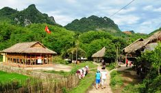 Lac village is located in Mai Chau valley, Hoa Binh Province with unique traditions. Mai Chau village is far about 150 kilometers from Hano. Vietnam Tours, Vietnam Travel, Hanoi, Trekking, Ho Chi Minh, Top 15, Vietnam Voyage, Local Tour, Travel Magazines