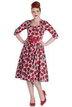 Hell Bunny Poppy 50'S Dress