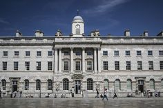 Beautiful Somerset House on the Strand, central London Art Thou, London Bridge, Best Cities, Westminster, Somerset, How Beautiful, Louvre, City, World
