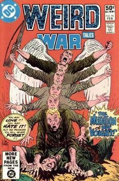 Weird War Tales #96 - The Mutation of Pvt. Voight! (Issue)