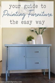 Your Guide To Painting Furniture The Easy Way | Windmill & Protea