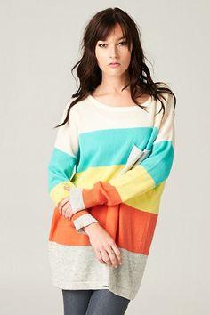 Aspen Sweater - Aqua