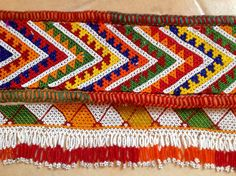 Traditional beaded belt from beduinwoman in St.Catherine Sinai, Egypt