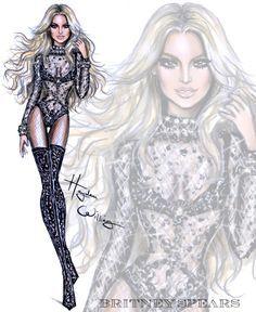 Britney Spears by Hayden Williams