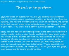 There's a huge storm imagine- Awww! One Direction Book, One Direction Drawings, One Direction Photos, 1d Preferences, One Direction Preferences, One Direction Imagines, Imagines Crush, Harry Styles Imagines, Queen Of The Damned