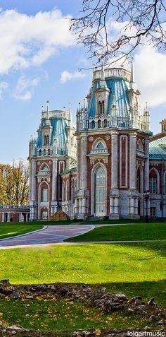 Tsaritsyno palacio, Moscú, Rusia