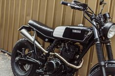Avec & Co   AVEC – Moto TW125 #17 Tw Yamaha, Tw 125, Tracker Motorcycle, 125cc, Scrambler, Bike, Head Light, Vintage, Cars