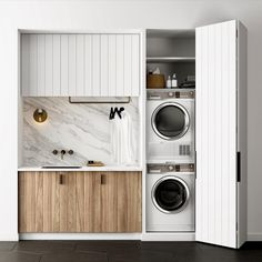 "8,487 Likes, 149 Comments - Scandinavian Colour + Design (@designstuff_group) on Instagram: ""// TRENDING: The Micro Laundry ✔️... With appliances getting smaller + smarter, and designs like…"""