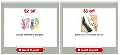 Target: Flip Flops for just $0.50 per pair!