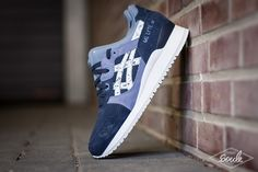 "ASICS GEL LYTE III INDIAN INK – ""GRANITE"" PACK"