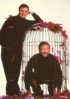 The Birdcage Movie Postcard Unposted Robin Williams Gene Hackman Nathan Lane Dianne Wiest, Mike Nichols, All Robins, Mork & Mindy, Film Movie, Movies, Comedy Films, Stand Up Comedy, Robin Williams