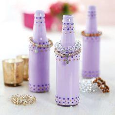 DIY Soda Bottle Jewelry Holder