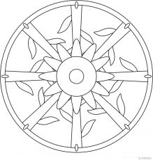 Simple Flower Mandala