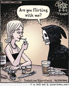 Are you flirting with me?