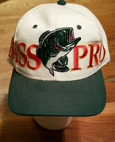 Bass Pro Shops embroidered Snapback Cap Trucker Hat hunting fishing wool  blend  BassProShops  Trucker e6119aa2351