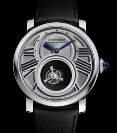 Cartier creates another fabulous piece for The Rotonde de Cartier Double Mystery Tourbillon on Presentwatch Dream Watches, Cool Watches, Women's Watches, Tourbillon, Mystery, Watches Photography, Luxury Watches For Men, Beautiful Watches, Watch Brands
