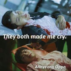 Song Joong Ki & Lee Jong Suk   W – Two Worlds // Descendants Of The Sun