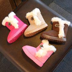 ขนาด21-35 // 2016ใหม่รองเท้าผ้าใบกันน้ำมาร์ตินหิมะยางรองเท้าเด็กผู้หญิงและเด็กผู้ชายรองเท้าฤดูหนาวสำหรับเด็ก�