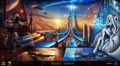 Magic Tower by haryarti on deviantART