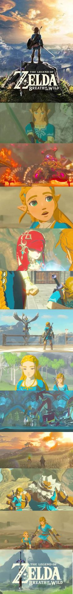 Breath of the Wild is the video game that Zelda gamers have always wanted! 3d Video Games, Video Game News, Legend Of Zelda Breath, Daily Video, Breath Of The Wild, Nerd Stuff, Cool Stuff, Videogames, Breathe
